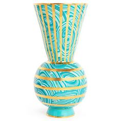 Jonathan Adler Malachite Rings Vase