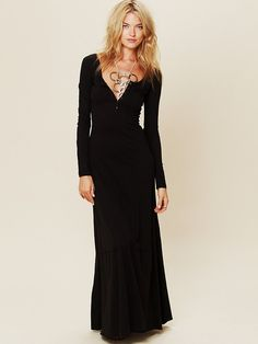 Free People Miles of Henley Dress - Want it