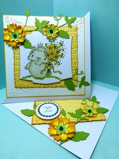 Twisted Easel Card could be used for Mother's Day | docrafts.com