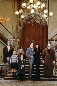 Adams family movie cast.