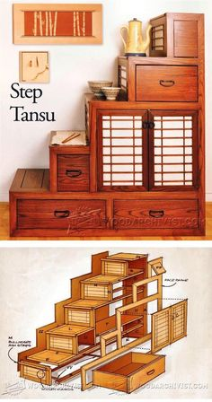 Step Tansu Plans - Furniture Plans and Projects | WoodArchivist.com