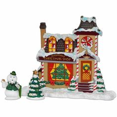 Sam the Snowman Christmas Shop by Department 56 4034305