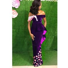 trend Aso Ebi Styles For The Weekend for 2019 Aso Ebi Lace Styles, Lace Gown Styles, African Lace Styles, African Lace Dresses, Latest African Fashion Dresses, Nigerian Fashion, African Style, African Fashion Traditional, Classy Outfits