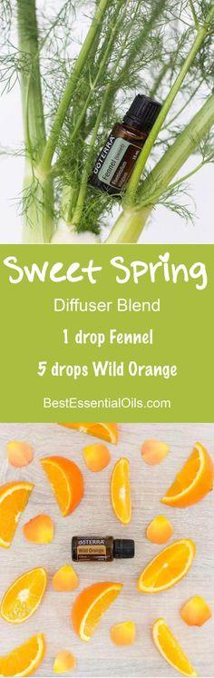 Sweet Spring doTERRA Diffuser Blend