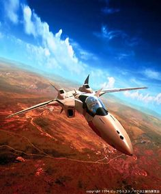 "YF-19 ""Excalibur"" from Macross Plus"