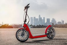 MINI presents the citysurfer concept, a collapsable urban electric scooter - designboom | architecture