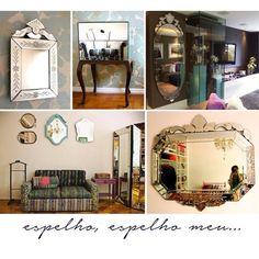 Existe alguém mais bonita que você num espelho desse?! :D www.shoplemodiste.com.br #espelhoveneziano