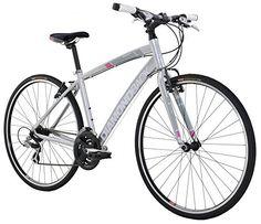 "Diamondback Bicycles 2016 Women's Clarity 1 Complete Performance Hybrid Bike, Silver, 18"" Frame http://coolbike.us/product/diamondback-bicycles-2016-womens-clarity-1-complete-performance-hybrid-bike-silver-18-frame/"