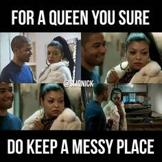 Empire!My new favorite show. #Empire #TeamCookie