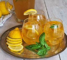 Lemon Basil Kombucha by BetsyLife