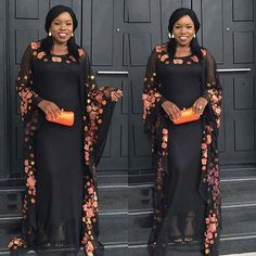 Assorted Cute Aso Ebi Lace Styles Worn Over The Past Weekend - Eazy Vibe African Maxi Dresses, African Fashion Ankara, Latest African Fashion Dresses, African Attire, African Wear, Ankara Gowns, African Clothes, Aso Ebi Lace Styles, African Lace Styles