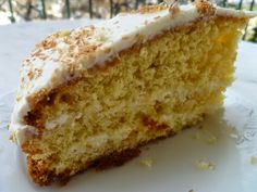 Βασιλόπιτα κέικ καρύδας λεμονιού με γλάσο