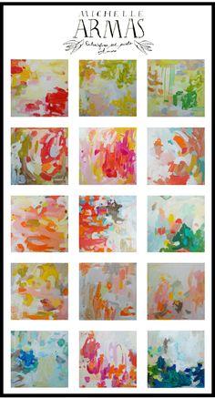 Gorgeous colors, gorgeous paintings.