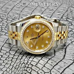 36mm DateJust TwoTone! Dial and Bezel. Like new $8500