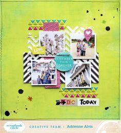 Adrienne Alvis | Scrapbook Circle: May 2014 Kit