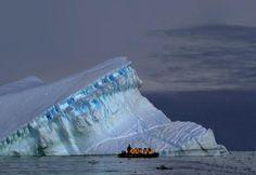 Cruising Iceberg Alley off Pleneau Island with @QuarkExpeditions #Antarctica #ttot