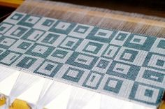 Weave-Away: Summer and winter towel draft