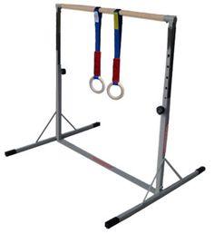 Cheap Gymnastics Bars for Home | Mini High Bar (Kip Bar) and Mini Bar Mat