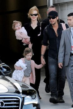 Nicole Kidman and Keith Urban arriving in Australia for the makIng of The Voice AU where Keith is a judge and mentor.