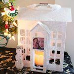 Grand paper house. Christmas. DIY