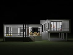 MyHousePlanShop: Single Story Three Bedroom House Plan Designed To Be Built In 233 Square Meters Home Design Plans, Plan Design, Roof Design, House Design, Single Storey House Plans, Three Bedroom House Plan, Front Porch Design, Box Houses, Home Pictures