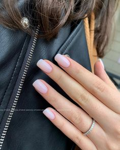 The advantage of the gel is that it allows you to enjoy your French manicure for a long time. There are four different ways to make a French manicure on gel nails. Cute Nails, Pretty Nails, Milky Nails, Nails Kylie Jenner, Nagel Blog, Clean Nails, Neutral Nails, Nagel Gel, Long Nails