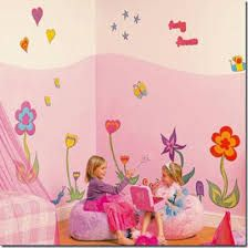Image result for pintura para habitacion bebe niña