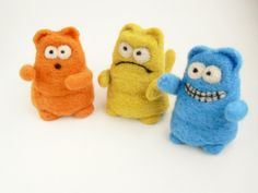 Kitty Plushies - for sale by DoodleWithGlueGun on deviantART