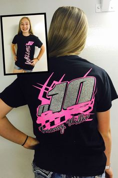 A personal favorite from my Etsy shop https://www.etsy.com/listing/294652957/race-car-birthday-shirt-race-car