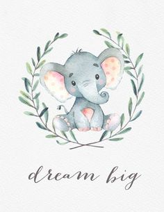 Watercolor Safari Nursery Art Safari Animal by ColorLovePrintCo Aquarell-Safari-Kinderzimmer-Kunst-Safari-Tier durch ColorLovePrintCo Safari Nursery, Nursery Prints, Nursery Decor, Baby Elephant Nursery, Nursery Paintings, Room Decor, Safari Animals, Baby Animals, Image Deco