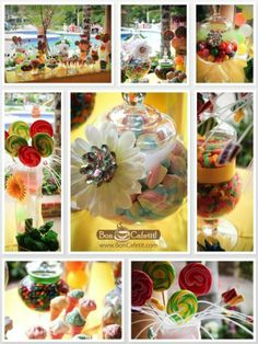 Bon Cafetit!'s sweet candy station. Amazing photos by Serdar Andonyan Photography.