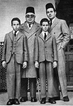 Agakhan, prince Sadrudin, Prince Karim and Amin