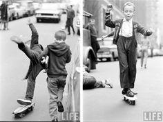 skateboard in the sixties
