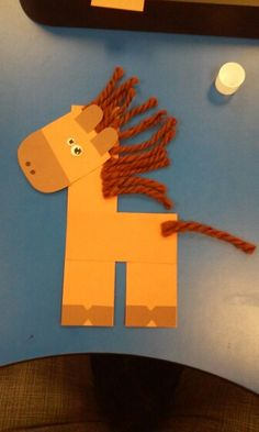 horse preschool craft