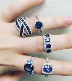Pin by Sandy Henderson on fancy colored diamonds in 2020 Gems Jewelry, Gemstone Jewelry, Silver Jewelry, Jewelry Accessories, Fine Jewelry, Jewelry Design, Unique Jewelry, Sapphire Jewelry, Diamond Jewelry