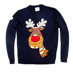 Reindeer Sweater for Warm Festivities in Winter reindeer sweater rudolph the reindeer christmas sweater from funky christmas sweaters qeywdiq Funny Christmas Jumper, Reindeer Christmas Jumper, Reindeer Sweater, Rudolph Christmas, Christmas Jumpers, Christmas Sweaters, Tv Presenters, Toddler Outfits, Funny Kids