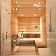 Can I have this sauna please?