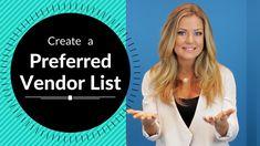 Create a Perferred Vendor List