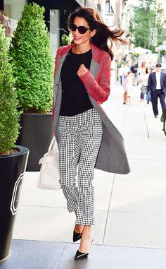 Modern Muse from Amal Clooney's Best Looks  Amal means business and is ready to take over the city in her Altuzarra perfect Fall outfit.