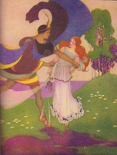 Margaret Evans Price - Persephone and Hades.