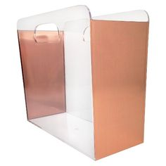 File Box - Clear with Copper Foil Sides - Threshold™ : Target