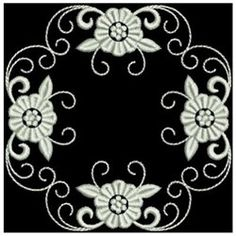 Ace Points Embroidery Design Pack: White Work Elegance 2