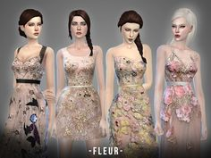 Sims 4 CC's - The Best: Fleur - collection by April