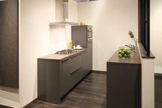Rechte keuken. Geschikt voor kleinere ruimtes. | DB Keukens
