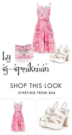 """""""3"""" by sj-speakman ❤ liked on Polyvore featuring Voodoo Vixen and Victoria's Secret"""