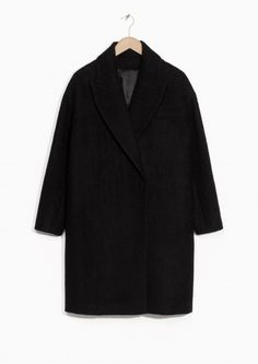 & Other Stories | Brushed Wool Blend Coat