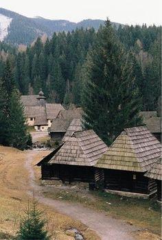 Mitošinkovie, Orava, Slovensko - slovenská architektúra z čias dávno minulých