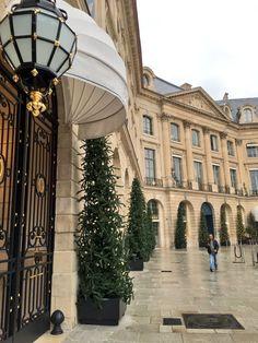 Hôtel Ritz, Paris, 15 Place Vendôme.
