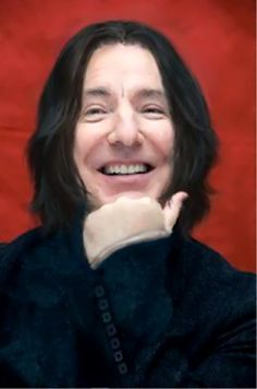mrs severus snape | severus-snape-my-eternal-prince:Artist: unknown.Our Prince is smiling ...