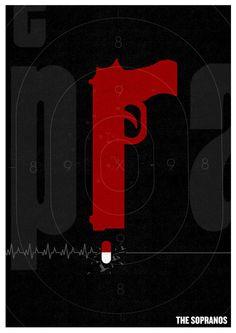 The Sopranos Poster Art Print